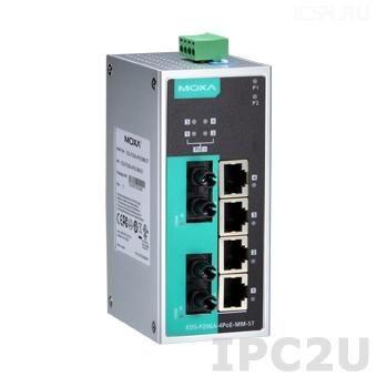 EDS-P206A-4PoE-MM-ST