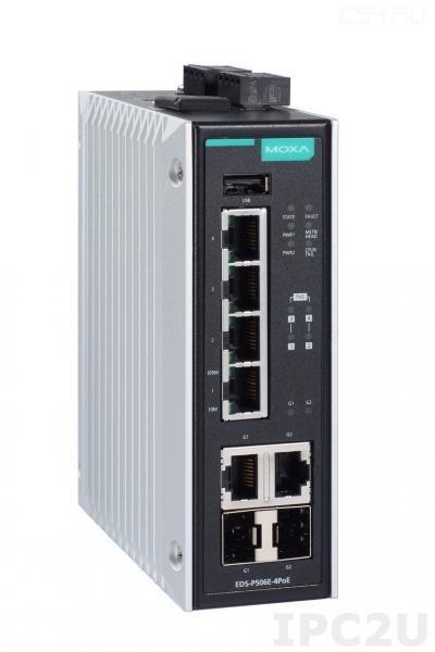 EDS-P506E-4PoE-2GTXSFP