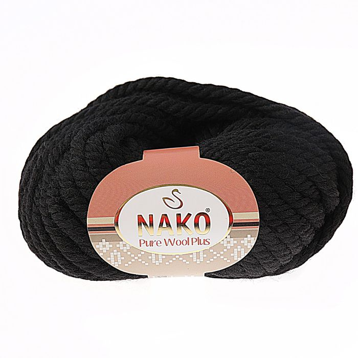 Pure wool plus 217 черный