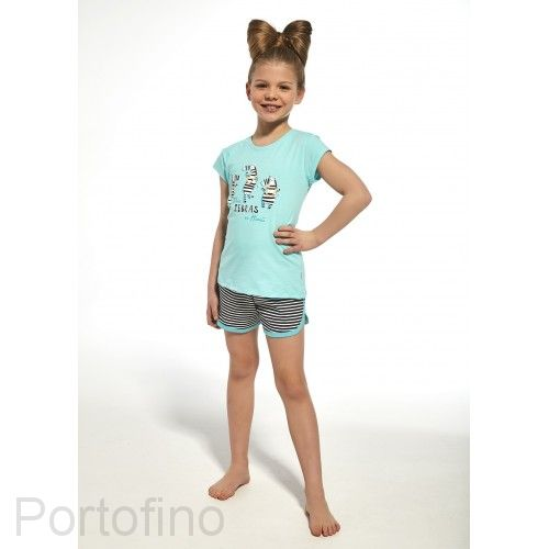 247-66 Пижама для девочек короткий рукав Cornette