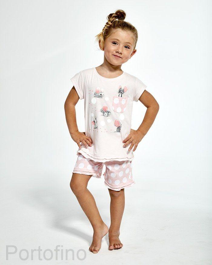 359-70 Пижама для девочки короткий рукав Cornette