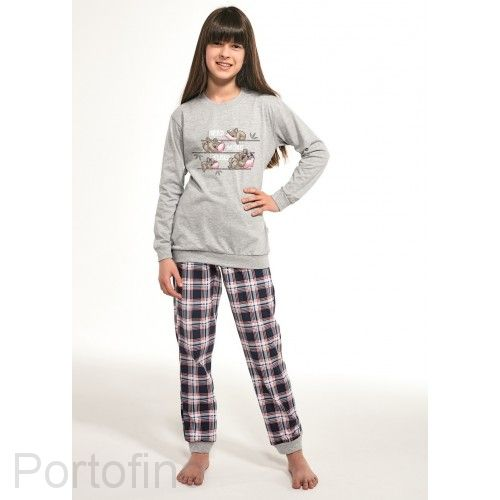 592-117 Пижама для девочек Cornette