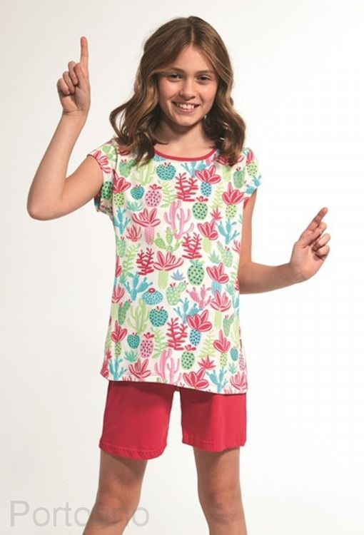 358-79 Пижама для девочек короткий рукав Cornette