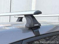 Багажник на крышу Mitsubishi L200 2007-15, Атлант, крыловидные дуги, опора Е