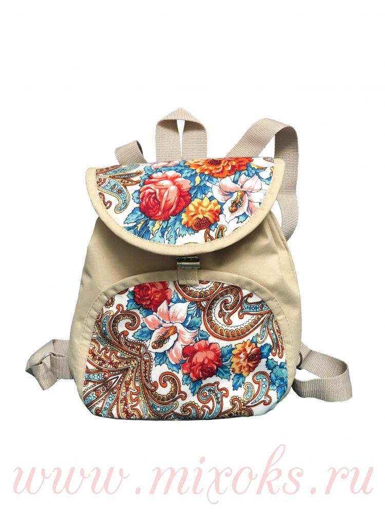 Рюкзак из платка