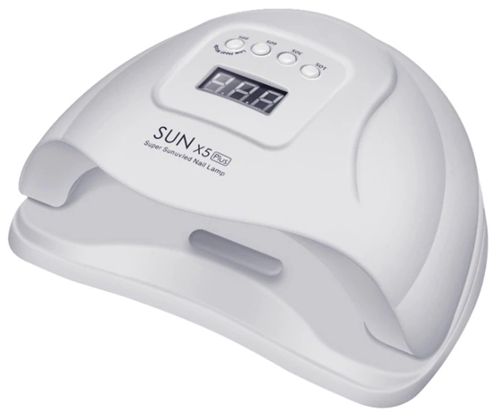 Лампа SUN X5 PLUS LED/UV 80 Вт