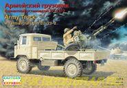 ЕЕ35132 Армейский грузовик с ЗУ-23-2