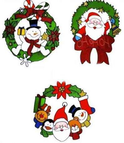 Наклейка Рождество