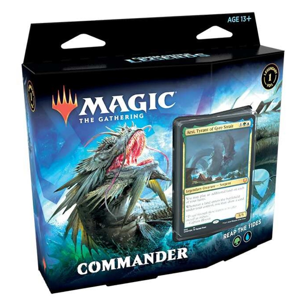 MTG: Колода Commander Deck: 1 издания Commander Legends на русском языке