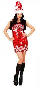 Платье-мини С Новым годом