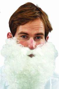 Борода Санта Клауса кудрявая