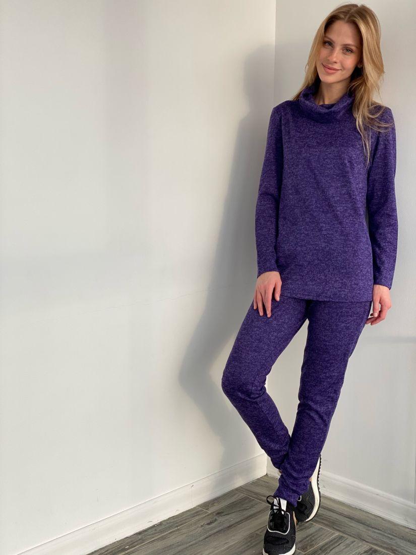 s3139 Костюм альпийский фиолетовый