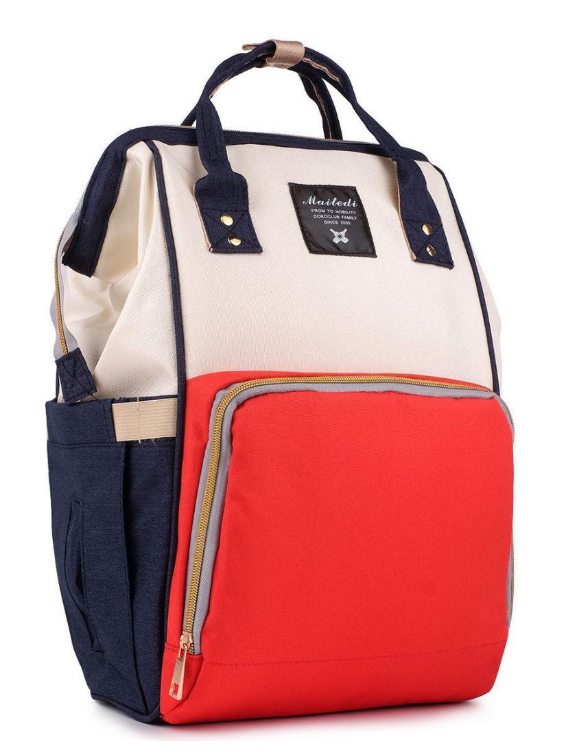 Рюкзак для мамы с креплением для коляски Maitedi