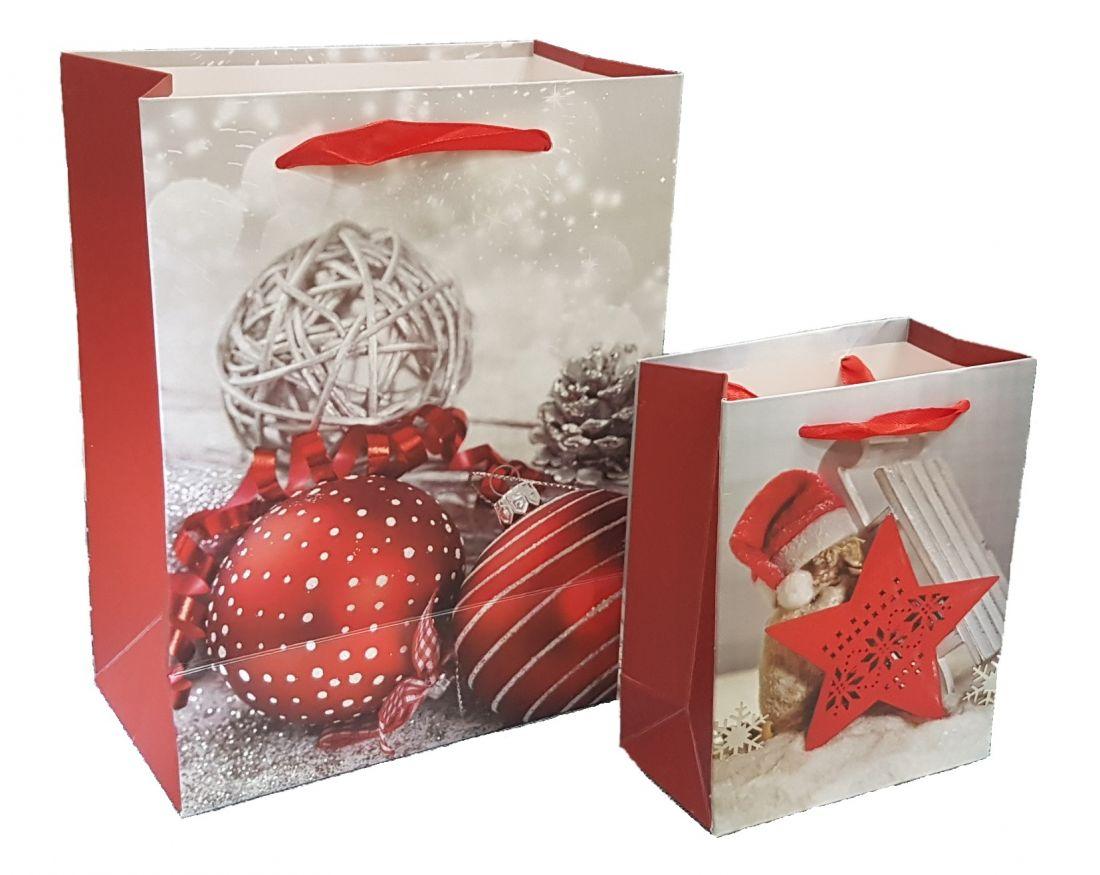 Пакет Новогодний подарочный 11x14 см