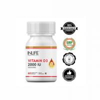 Витамин D3 2000 I.U. в капсулах Инлайф   INLIFE Vitamin D3 2000 IU Supplement