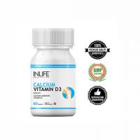 Кальций + Витамин D3 в таблетках Инлайф | INLIFE Calcium with Vitamin D3 Supplement