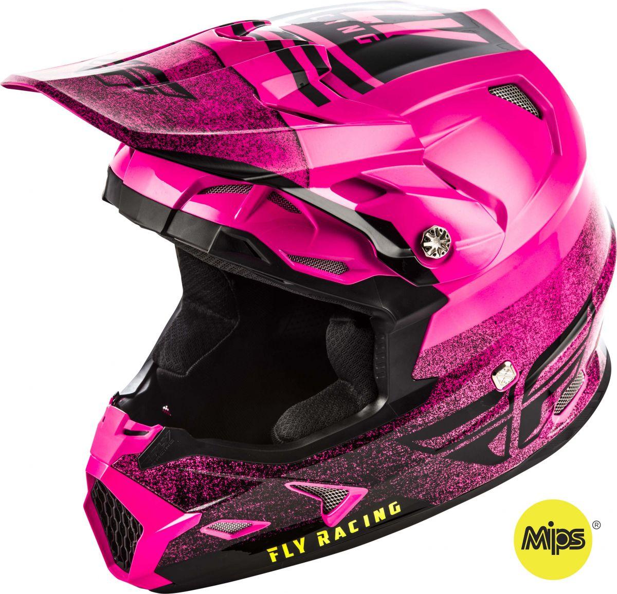 Fly - 2019 Toxin MIPS Embargo Neon Pink/Black шлем, розово-черный