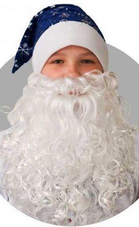 Колпак и борода Деда Мороза