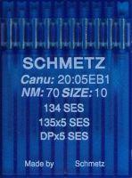 Иглы Schmetz DPx5 SES SERV7 №60 10шт