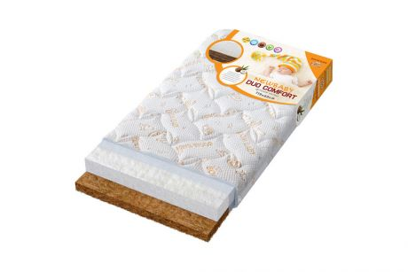 Матрас NEWBABY SLEEP, многослойный стеганный трикотаж (60*119*12)