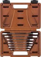 935007 Набор ключей гаечных комбинированных трещоточных SNAP GEAR, 8-19 мм, 7 предметов