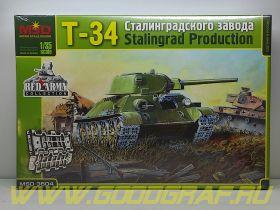 MQ3504 Танк Т-34/76 СТЗ