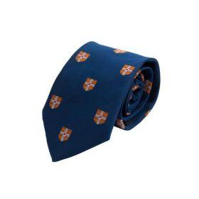 Английский галстук с гербом Кембриджского Университета OFFICIAL UNIVERSITY OF CAMBRIDGE RED COAT OF ARMS TIE