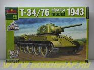 MQ3524 Танк Т-34/76 с штампованной башней