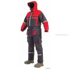 Комбинезон-поплавок раздельный Seafox Extreme 1pc цвет: черно-красный