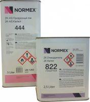 NORMEX 2К HS Прозрачный лак 444 5 л. (комплект)