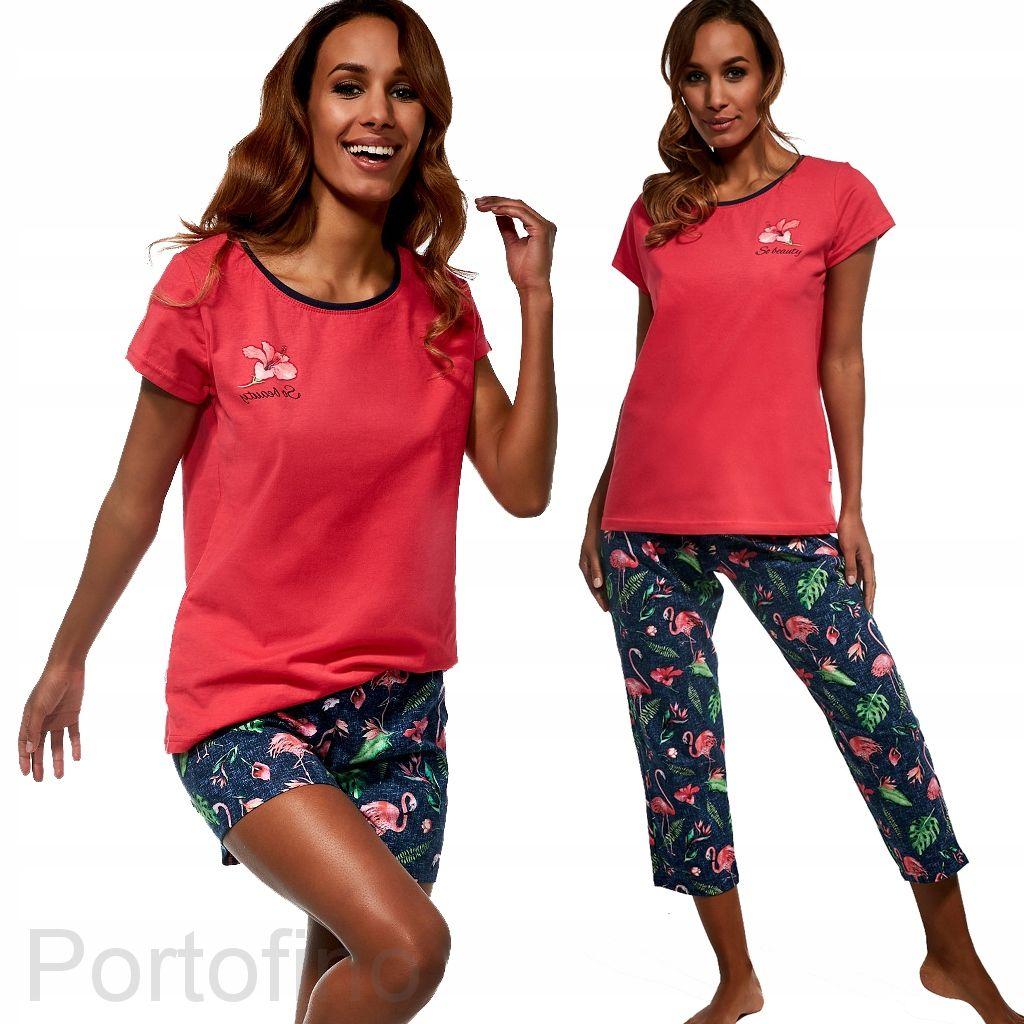 665-149 Пижама женская короткий рукав Cornette