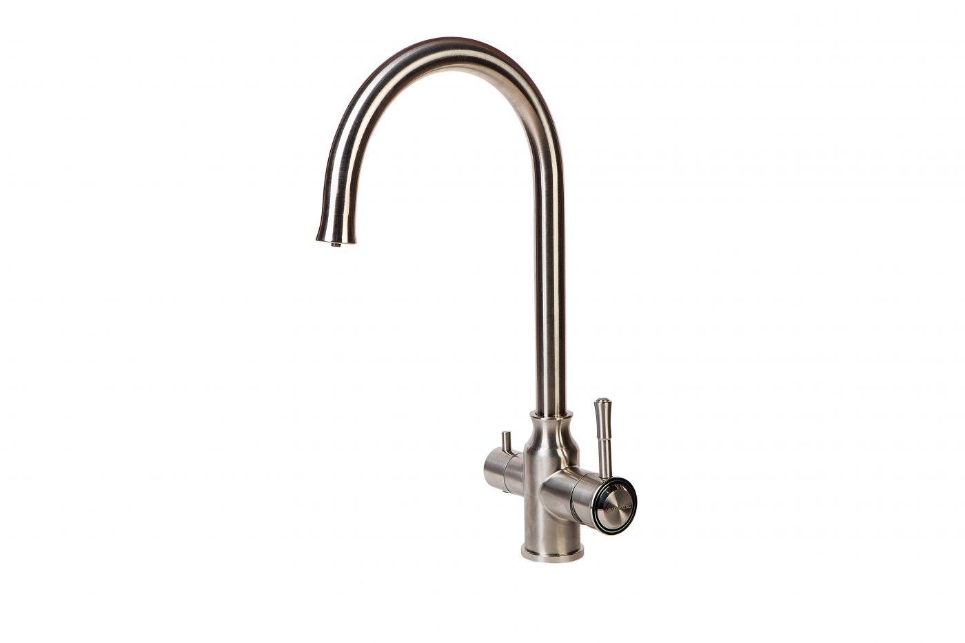 Vaserzberg SUS-1763 New Смеситель для кухни с подключением фильтра