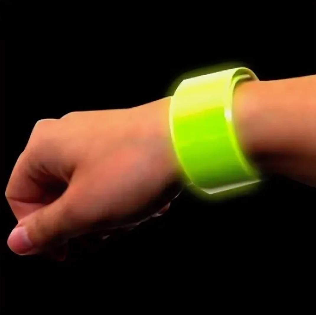 Детский светоотражающий браслет