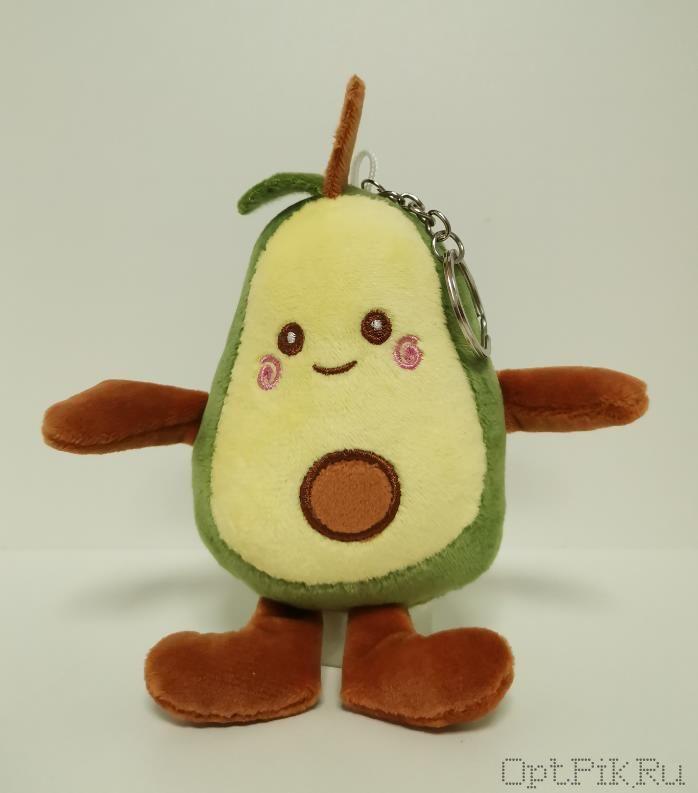Брелок авокадо с ножками