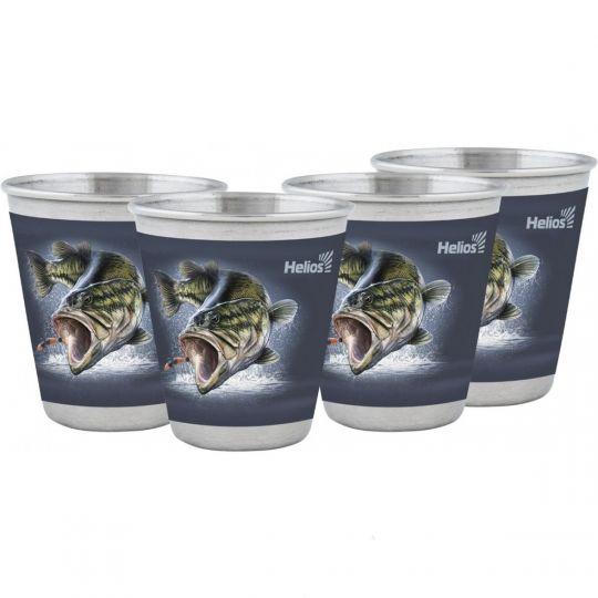 Набор стопок 60мл Рыба Helios HS-NS-W-A19-2