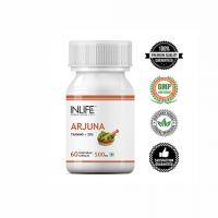 Арджуна экстракт (содержание таннина не менее 25 %, 500мг капсула) Инлайф | INLIFE Arjuna Extract Supplement 500mg