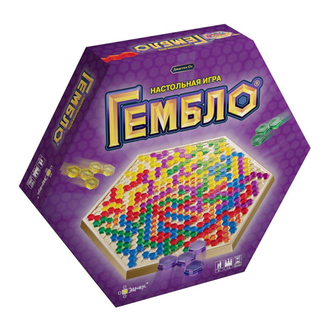 Настольная игра ЭВРИКУС PG-15001 Гембло