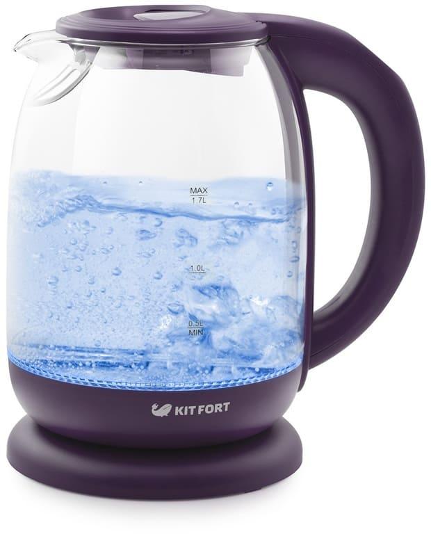 Чайник KitFort KT-640-5 ежевичный