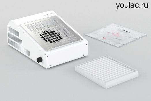 Маникюрный пылесос AirMaster TORNADO  + база и топ Youlac (10мл) в подарок .