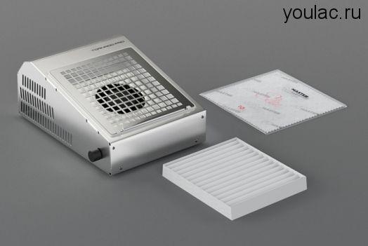 Маникюрный пылесос AirMaster TORNADO PRO  + база и топ Youlac (10мл) в подарок .