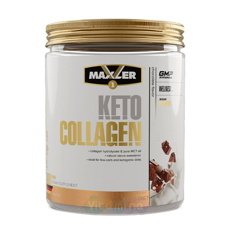 Maxler Keto Collagen Коллаген и масло MCT, 400 гр