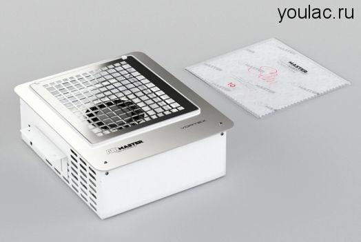 Встраиваемый пылесос AirMaster VORTEX  + база и топ Youlac (10мл) в подарок .