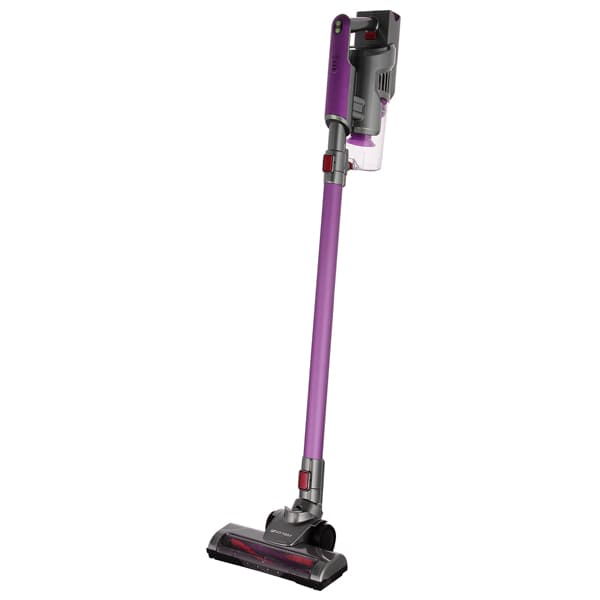 Вертикальный пылесос KitFort KT-536-2 фиолетово-серый