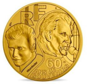 Джонни Холлидей 1/4 Евро Франция 2020 на заказ