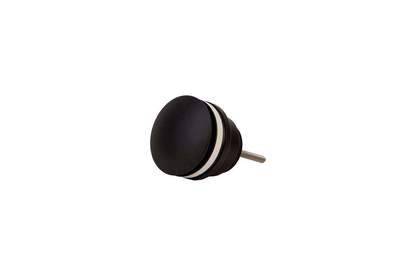 Vaserzberg SUS5 Черный универсальный гидрозатвор для раковины
