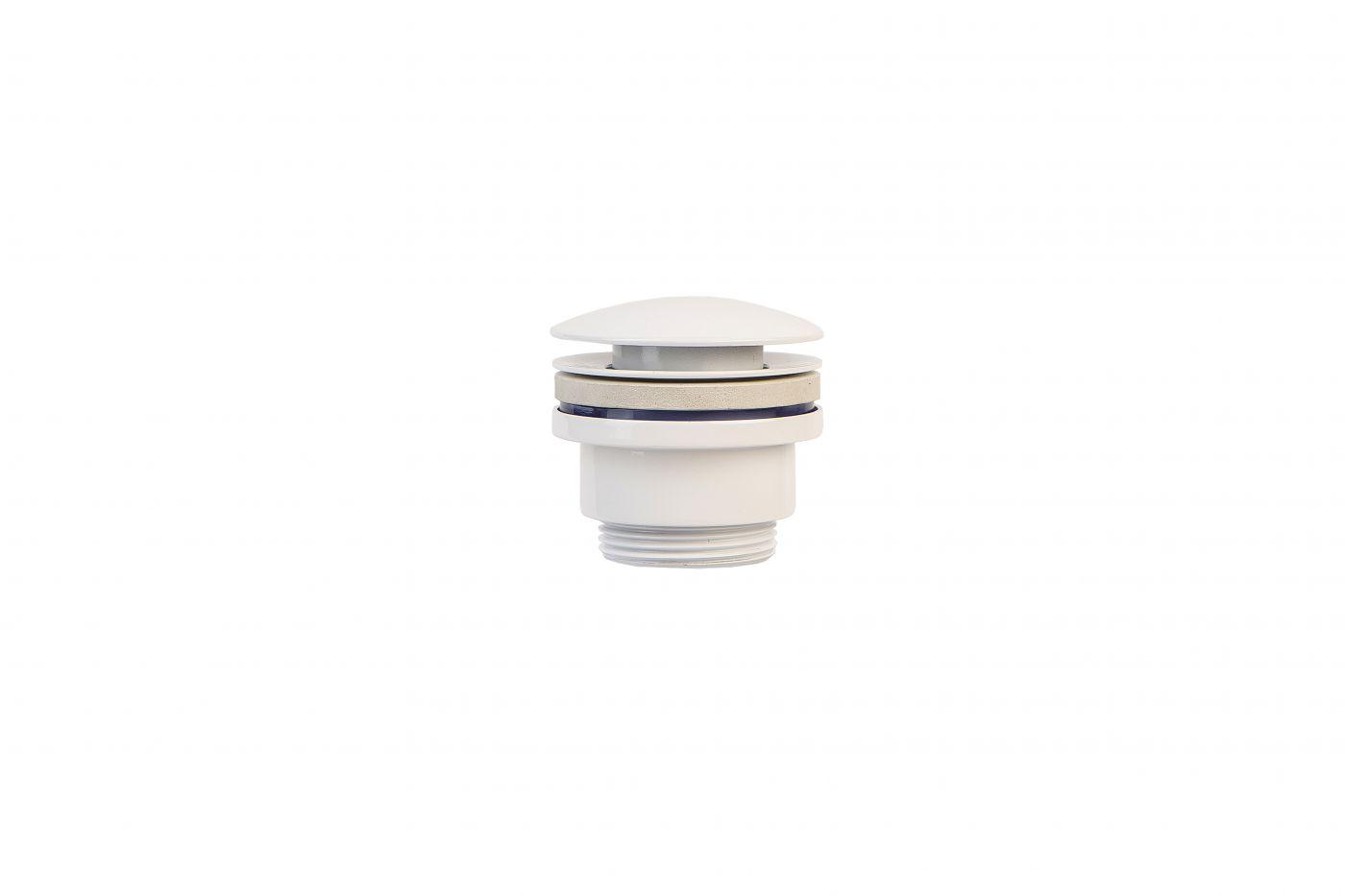 Vaserzberg SUS5 Белый универсальный гидрозатвор для раковины