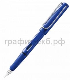 Ручка перьевая Lamy Safari синяя F 014