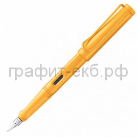Ручка перьевая Lamy Safari манго F 021