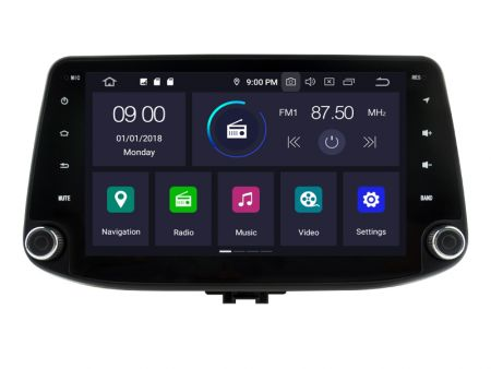 Witson Hyundai i30 2016-2019 (W2-RVT5368)