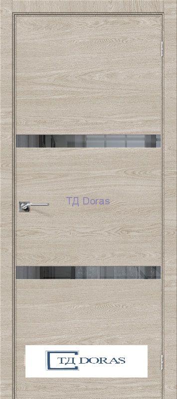 Межкомнатная дверь с экошпоном Порта-55 4AF Nord Skyline/Mirox Grey